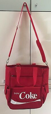 Picnic Time Coca-Cola Insulated Cooler Bag Tote Red With Shoulder Strap