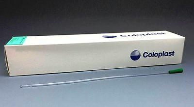 Coloplast Self-Cath Straight Tip Male Catheter 14FR 16in REF 414 30 Pack (NEW)