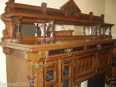 19Th Century Sideboard By Lamb Of Manchester