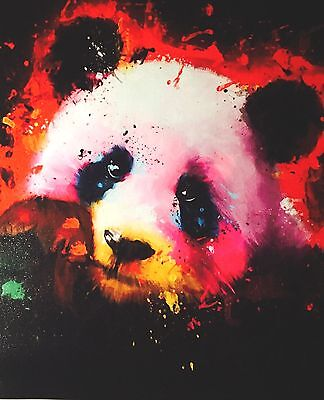 "Modern Abstract Canvas Painting Print Wall Art Panda Picture 24""x20"""