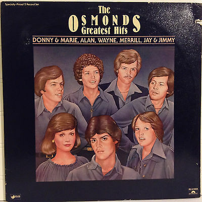 The Osmonds / Greatest Hits vinyl 2x LP 1977 gate-fold Ex+ / Donny Osmond
