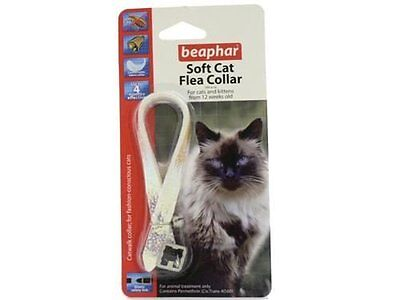 6 x Beaphar Canac Cat Walk Stylish, reflective collar with elastic safety link