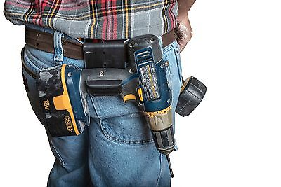 The Gunnie Tool Holder. Drill holster,  Black GUNNIESNGLE