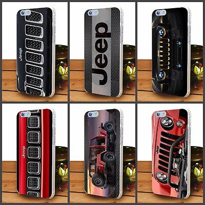 Jeep off road car hard transparent  case For iPhone 5 6 7 8  Jeep iphone case