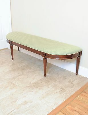 Henkel Harris Mahogany Bench Style # 297 Fits King Bed