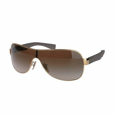 Ray-Ban RB3471 001/13 Gold Frame Brown Gradient 32mm Single Lens Sunglasses