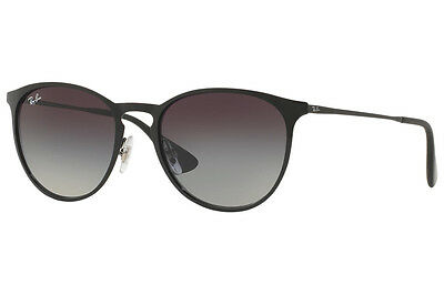 Ray-Ban Erika Metal RB3539 002/8G Black Frame Grey Gradient 54mm Lens Sunglasses