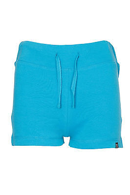 Womens Casual Summer Holiday Plain Shorts Ladies Jersey Tie Hotpants