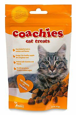 Company of Animals Coachies Cat Treats with Chicken 65g