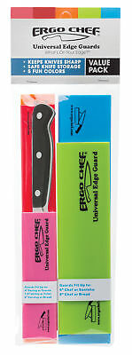 Ergo Chef Universal Edge Guard Value Pack - Knife Guard Set - 5 Colors