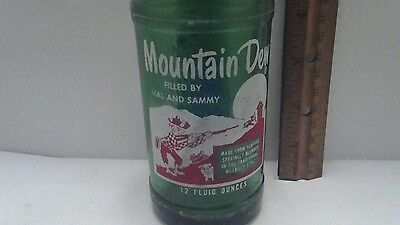 Mountain Dew FILLED BY HAL AND SAMMY Bottle