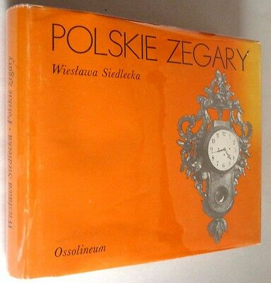 Polskie Zegary 1988 Wiestawa Siedlecka Polish Language Clocks Poland Horology
