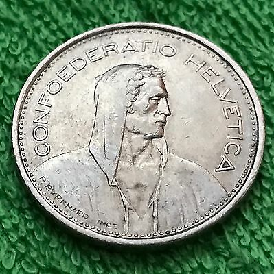 """SWITZERLAND  5  Francs  1968  - B  """"PLUS FREE GIFT WITH ORDER!""""  NICE COIN!"""