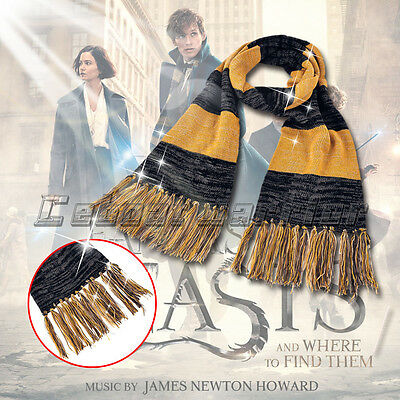 Fantastic Beasts and Where to Find Them Scarf Newt Scamander Cosplay Man Wraps B