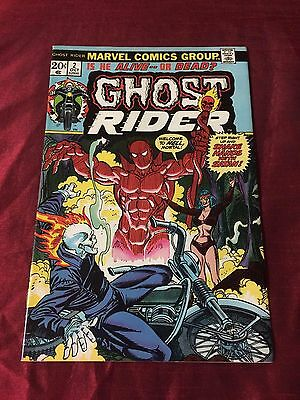 Ghost Rider #2 1St Son Of Satan! Key