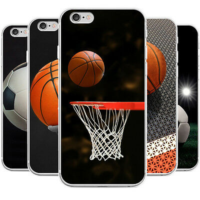 Football Basketball Phone Case Cover For Samsung Galaxy S6 S7 Iphone 6 7 Warm