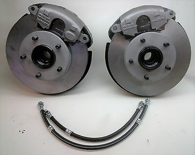 1967 1968 67 68 Cadillac Eldorado Front Knuckle Disc Rotor Brakes Change Over  T