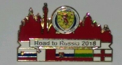 Scotland road to russia badge