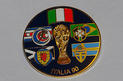 Scotland 1990 world cup collectors tray badge       (LIMITED EDITION)