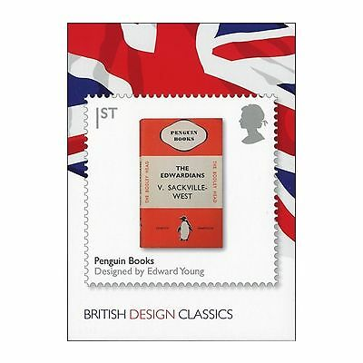 Penguin Book Logo & Cover Design By Edward Young Royal Mail Design Classic Card
