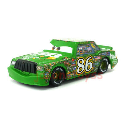 Mattel Disney Pixar Cars Chick Hicks NO.86 Toy Car 1:55 Loose New In Stock