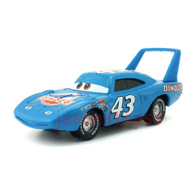 Mattel Disney Pixar Cars Race Team Diecast Toy No.43 King 1:55 Loose New  Stock