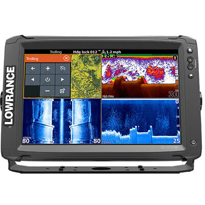 Lowrance Elite-12Ti Fishfinder No Transducer 000-14373-001 #62120206