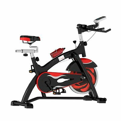 FoxHunter Fitness Exercise Bike Cycling Indoor Workout Trainer EB05 Black Red