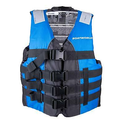 Boatworld Adult Life Jacket Kayak Ski Buoyancy Aid Watersports Vest Dual Size