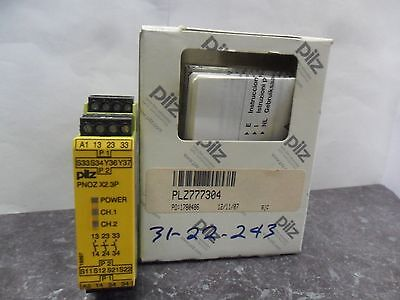 New PILZ PNOZ X2.3P 24VACDC 3n/o Safety Relay NIB