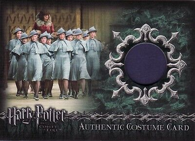 Harry Potter Goblet of Fire Beauxbatons students C7 Costume Card a