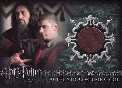 Harry Potter Goblet of Fire Victor Krum C4 Costume Card b