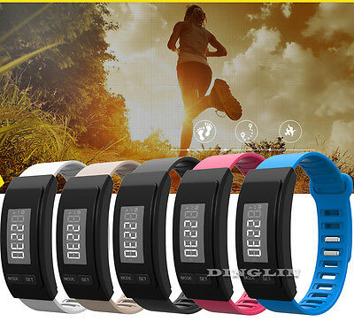 LCD Pedometer Wrist Watch Bracelet Sports Calorie Step Walking Counter Wristband