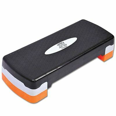 Phoenix Aerobic Stepper Platform Adjustable Yoga Step Board Gym Fitness Exercise