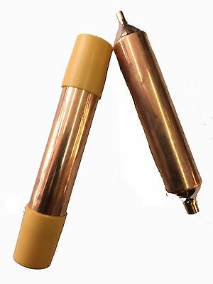 "8 x Copper Drier 1/4"" Tube 30 Gram Refrigeration Copper Filter Drier Fridge"