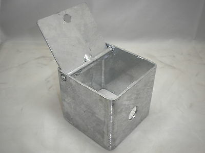 Galvanised Steel Earth Rod Spike Inspection Chamber Box Pit Earthing Mf2