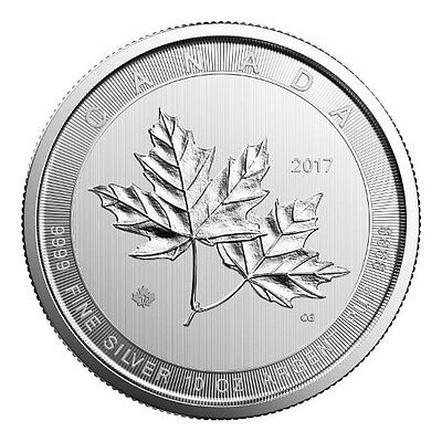 CANADA 50 Dollar Argent 10 Once Maple Leaf 2017 - 10 Oz silver coin