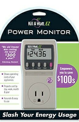 P3 INTERNATIONAL p4460 Kill A Watt EZ 15A 120 Volts.