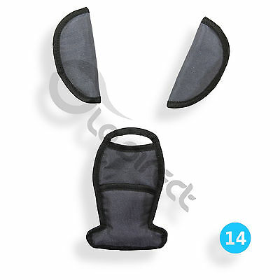 STRAP & CROTCH COVER fit MAXI COSI Cabriofix Cabrio car seat BELTS PAD P014