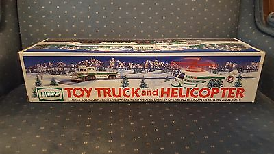 Vintage 1995 Hess Truck W/ Helicopter - Combine Shipping Available