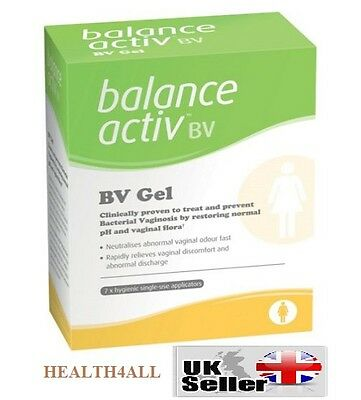 Balance Activ Vaginal BV Bacterial Vaginosis Gel (7 PK) - Restores Vaginal pH