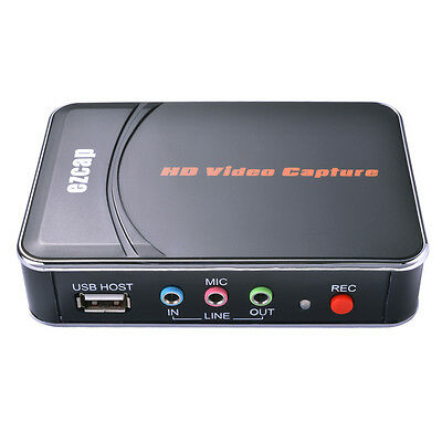 Portable Game Capture HD Video 1080P HDMI/YPBPR Recorder for XBOX PS4 WiiU AH315
