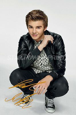 Jack Griffo Pre-Signed Photo Print Poster - 12 X 8 Inch  - The Thundermans
