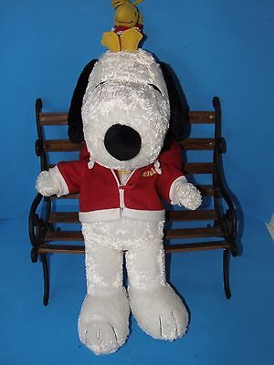 788d70ee6363b SNOOPY AND WOODSTOCK Plush 20