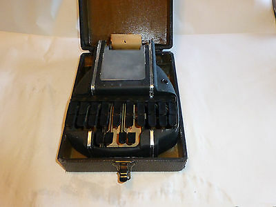 Vintage Steno Dictation Machine STENOGRAPHIC MACHINES Shorthand Stenograph Court