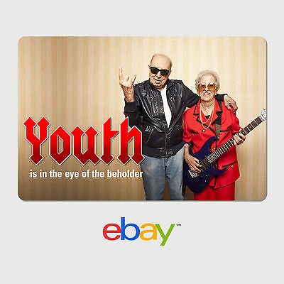 eBay Digital Gift Card  Happy Birthday Youth is in the eye - Email delivery