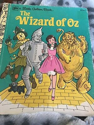 The Wizard Of oz golden book