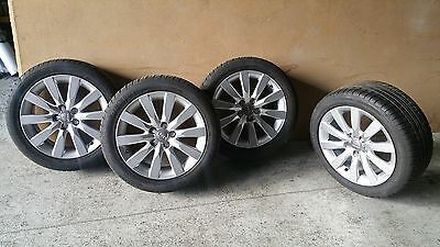 Audi A1 8X 2014 Wheels and Tyres set
