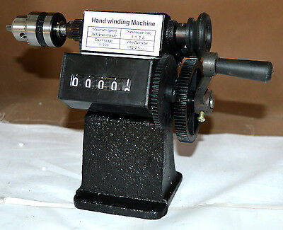 NZ-1 Chuck Manual Hand Coil Winder Winding Machine free shipping