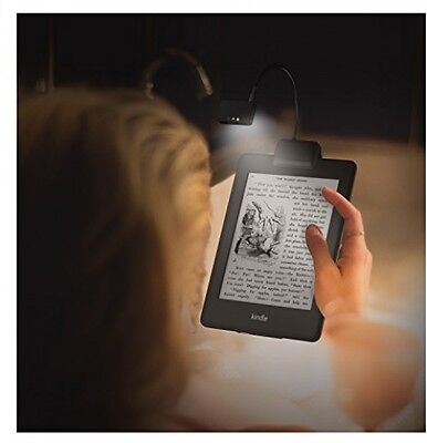 Flexible Neck LED Clip-On Reading Light Lamp for Amazon Kindle Nook Book Reader